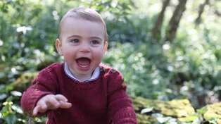 Kate Middleton given signed tennis shoes for Prince Louis at Wimbledon