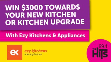 WIN $3,000  TOWARDS YOUR NEW KITCHEN OR KITCHEN UPGRADE