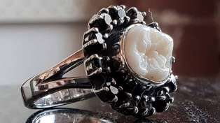 Revolting or romantic? Jeweller makes engagement rings out of human teeth