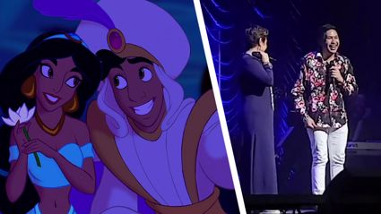 Kiwi star plucked from crowd to duet 'A Whole New World' with Disney Legend Lea Salonga