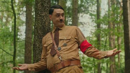 Taika Waititi makes hilarious debut as Adolf Hitler in first JoJo Rabbit trailer