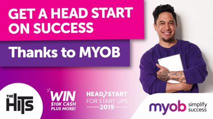 Get a head start on success thanks to MYOB!