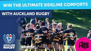 WIN the Ultimate Sideline comforts with Auckland Rugby!