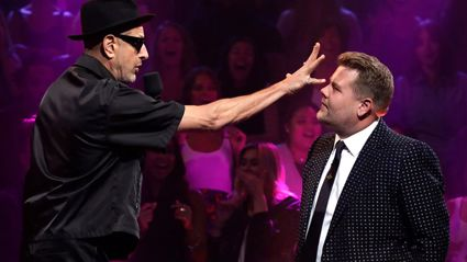 Watch Jeff Goldblum hilariously destroy James Corden over Cats in epic rap battle