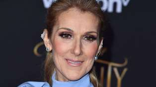 Céline Dion looks almost unrecognisable debuting her new jet black pixie haircut