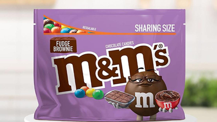 M&M's are bringing out a fudge brownie flavour and we are so excited to try them