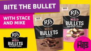 Bite the Bullet with Stace & Mike and Rj's Licorice Bullets!