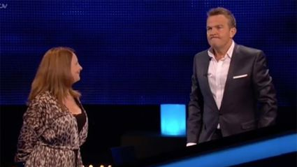 Bradley Walsh hilariously drags The Chase contestant off-stage for 'ruining' show