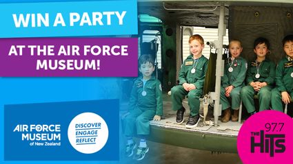 Win a Party at the Air Force Museum of New Zealand!