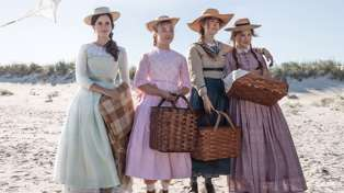 First look at the brand new remake of 'Little Women' has us head over heels