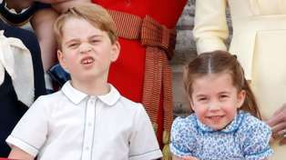 Prince George and Princess Charlotte's cheekiest royal moments over the years