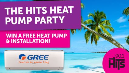 WIN A Heat Pump Installed In Your Home!