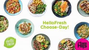 Win with The Hits and HelloFresh Choose-Day Tuesdays!