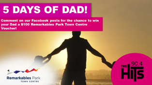 WIN a $100 Remarkables Park Town Centre Voucher for Dad!