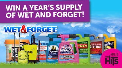 Win a years supply of Rapid Application thanks to Wet and Forget