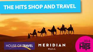 Shop and Travel with House of Travel and Meridian Mall