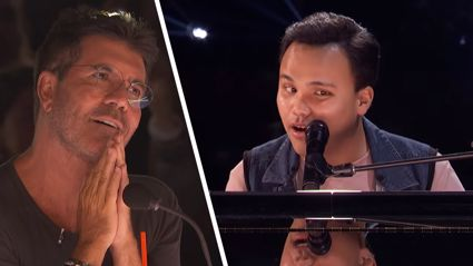 Blind autistic singer leaves America's Got Talent judges in 'tears' with stunning piano performance