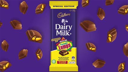 Cadbury's brand new Pineapple Lump chocolate block is out tomorrow