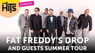 The Hits are proud to present the Fat Freddy's Drop Summer Record Tour!