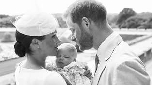 Meghan Markle shares never-before-seen photo of baby Archie to celebrate Prince Harry's birthday