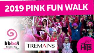 Tremains Pink Fun Walk 2019