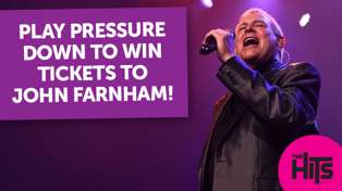 Play Pressure Down to win tickets to John Farnham
