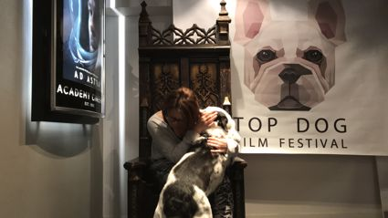Try it Out Tuesday - Estelle takes her dog Hogan to the movies