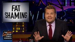 James Corden's absolutely epic comeback to 'insulting' fat-shaming comments goes viral