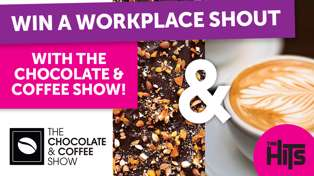 Win a workplace shout with the Chocolate and Coffee show!