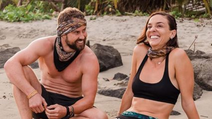 Shannon Ryan talks to 'nemesis' Sam Wallace about their beef on 'Celebrity Treasure Island'