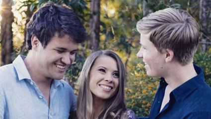 Robert Irwin shares hilarious outtake from Bindi Irwin's engagement photo shoot