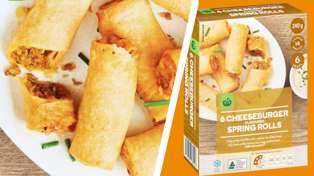 Countdown is now selling cheeseburger spring rolls and they look delicious