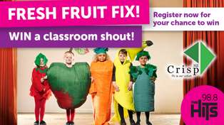 WIN a Fresh Fruit Fix for Your Classroom!