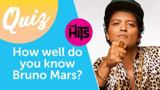 QUIZ: How well do you know Bruno Mars? Put your fan knowledge to the test