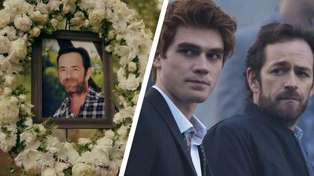 Luke Perry's co-stars send off late actor as a 'hero' in Riverdale's memorial episode
