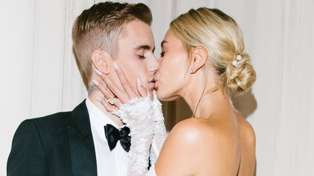 Justin Bieber and Hailey Baldwin finally share their wedding photos and her dress is gorgeous