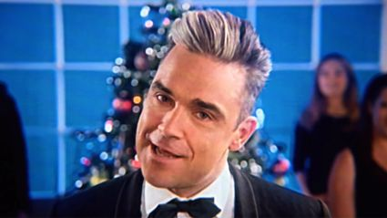 Robbie Williams reveals he will be releasing his very first Christmas album this year