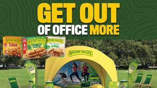 Ready, set... Win with Nature Valley Get Out of Office!