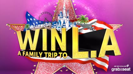 WIN a family trip to Los Angeles!