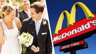 Brides and grooms are now able to get married at McDonalds for just $600