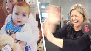 Toni Street reveals the exact moment her baby Lachie turned into mischievous toddler
