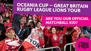 Be our 'Official Match Ball Kid' for the Oceania Cup!