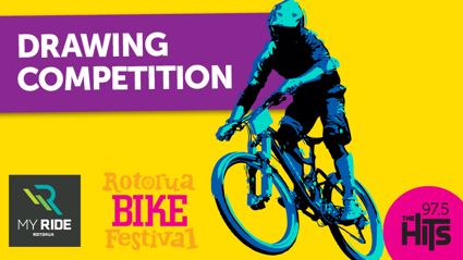 Rotorua Bike Festival Drawing Competition with My Ride