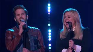 Kelly Clarkson and Ben Platt perform stunning cover of Bob Dylan's 'Make You Feel My Love'
