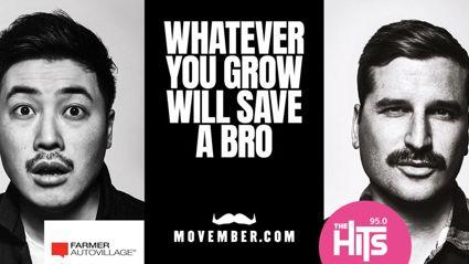 Grow a Mo and Save A Bro This Movember