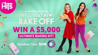 Win with The Great Kiwi Bake Off!