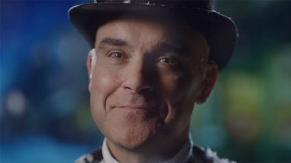 Robbie Williams unveils first song from his upcoming Christmas album and we love it