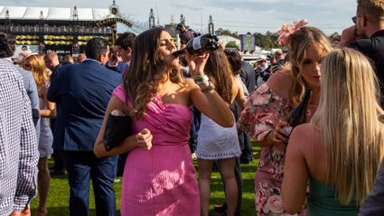 These are the photos of the drunken aftermath of the Melbourne Cup 2019
