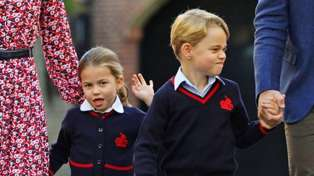 Royal siblings Prince George and Princess Charlotte argue over toys and TV
