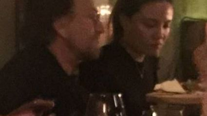 U2 front-man Bono spotted dining out at popular Auckland restaurant